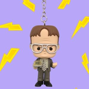 The Office Dwight Schrute Keychain Funko